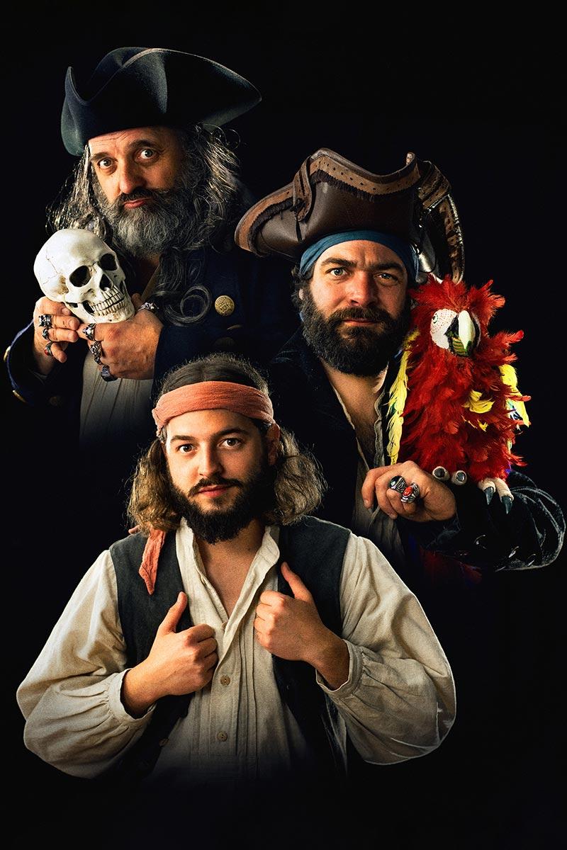 Geborn um wild zu sei - Eine Fränkische Piraterei - Hochformat