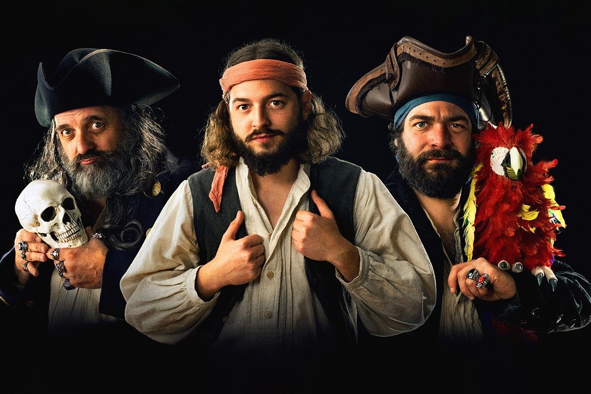 Geborn um wild zu sei - Eine Fränkische Piraterei